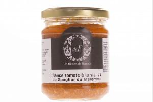 Sauce tomate sanglier Mareme